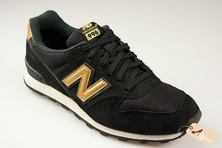 basket new balance noir et or